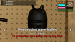 Protection parre balles